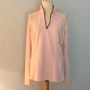 Lululemon long-sleeved pullover jacket, sz 10
